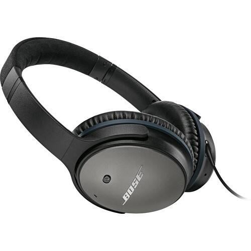 Bose QuietComfort 25 Acoustic Noise Cancelling Headphones for Apple devices - Black $159.99
