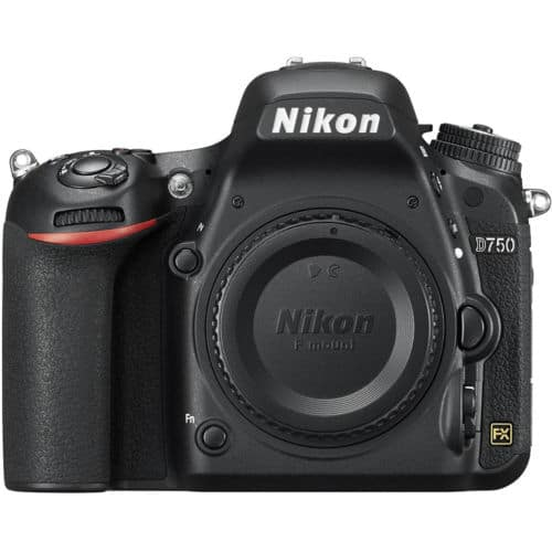 Nikon D750 DSLR 24.3MP  Camera (Refurbished)-Body only +  Free shipping $1199.99