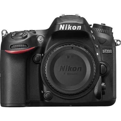 D7200 Nikon DX  24.2MP Digital SLR (Refurb) body + Free shipping $599.99