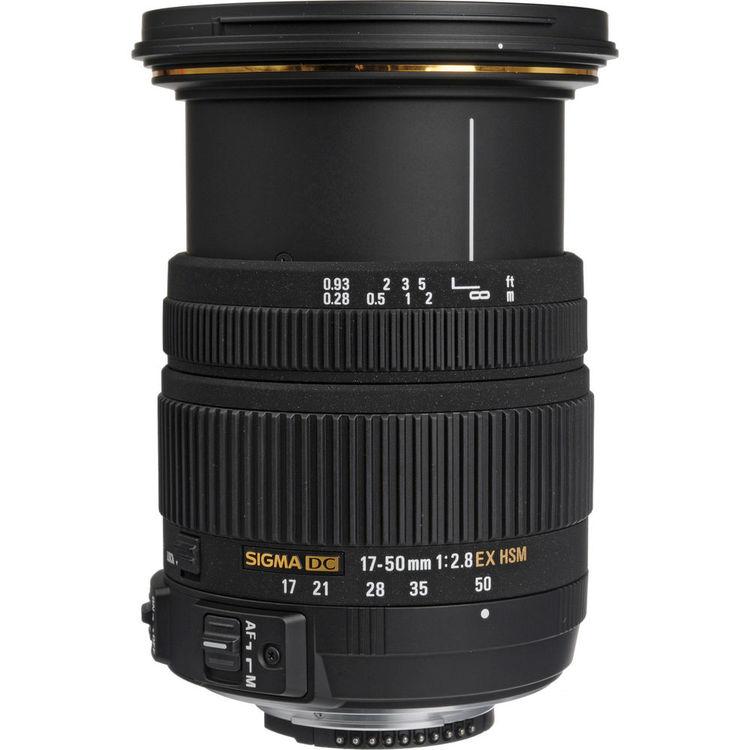Sigma 17-50mm f/2.8 EX DC OS HSM Lens f/Nikon, USA $285