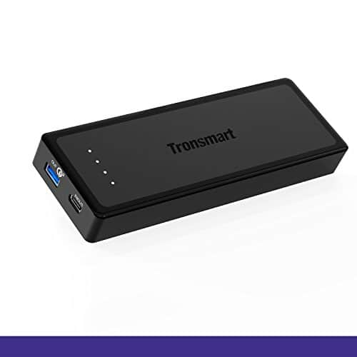 Tronsmart Presto 12000mAh Power Bank with USB Type-C Input & Output - $27.99