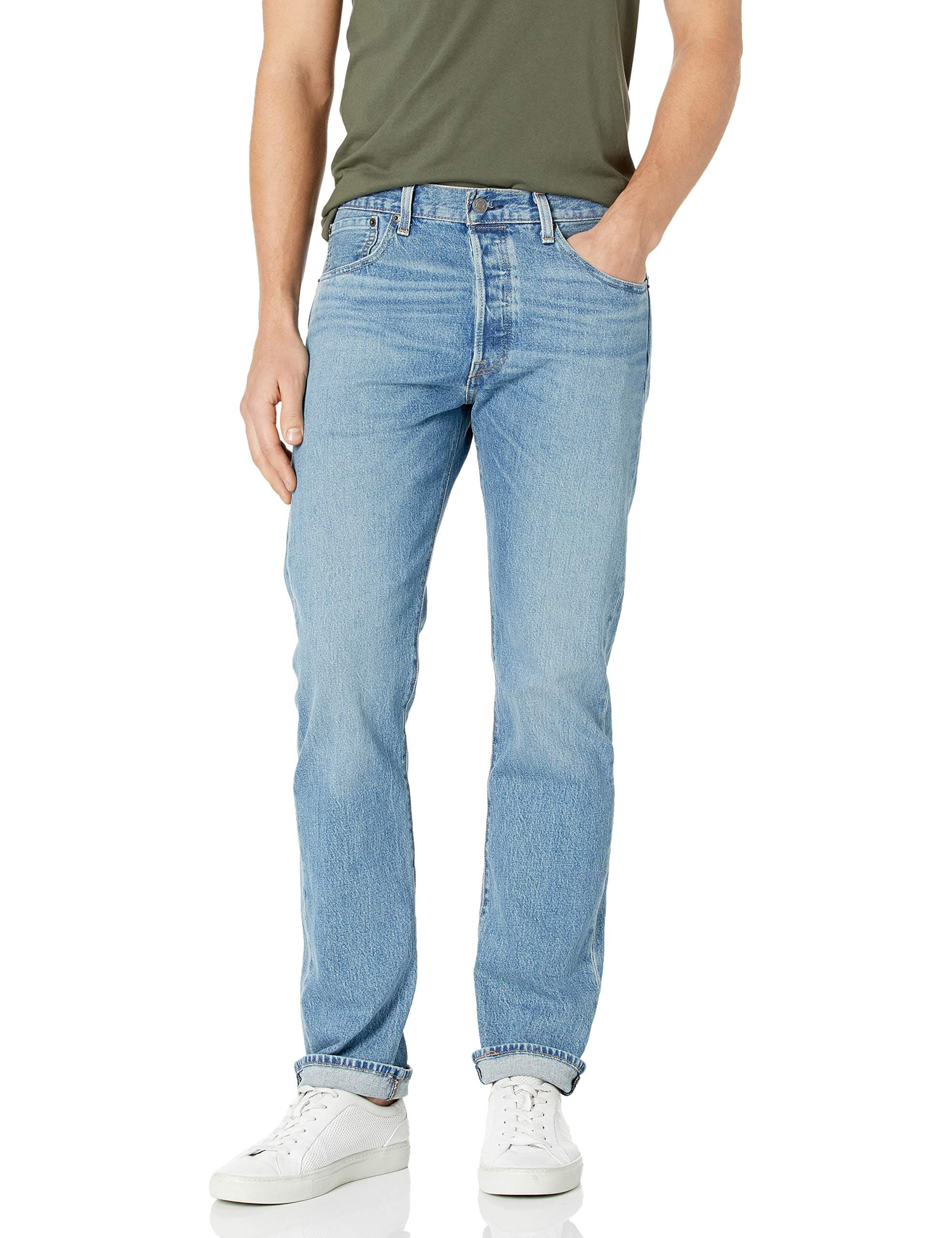 Levi's Men's 501 Original Fit Jeans (The Ben) $18.97 + free shipping w/ Prime or on orders over $25