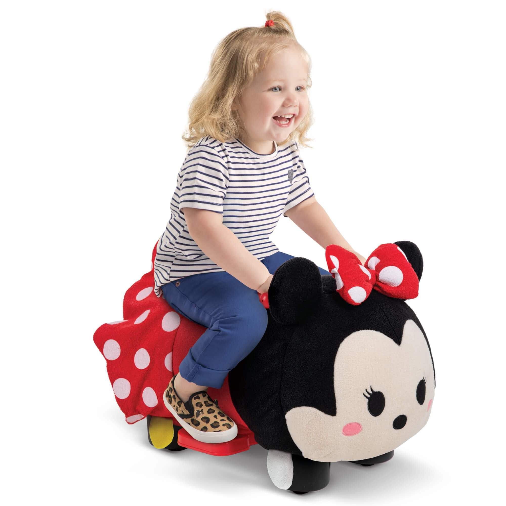 Disney Tsum Tsum Electric Ride-on Plush Toy for Toddlers by Huffy (Minnie Mouse or Winnie the Pooh) $25 + free shipping on $35 or with Walmart+