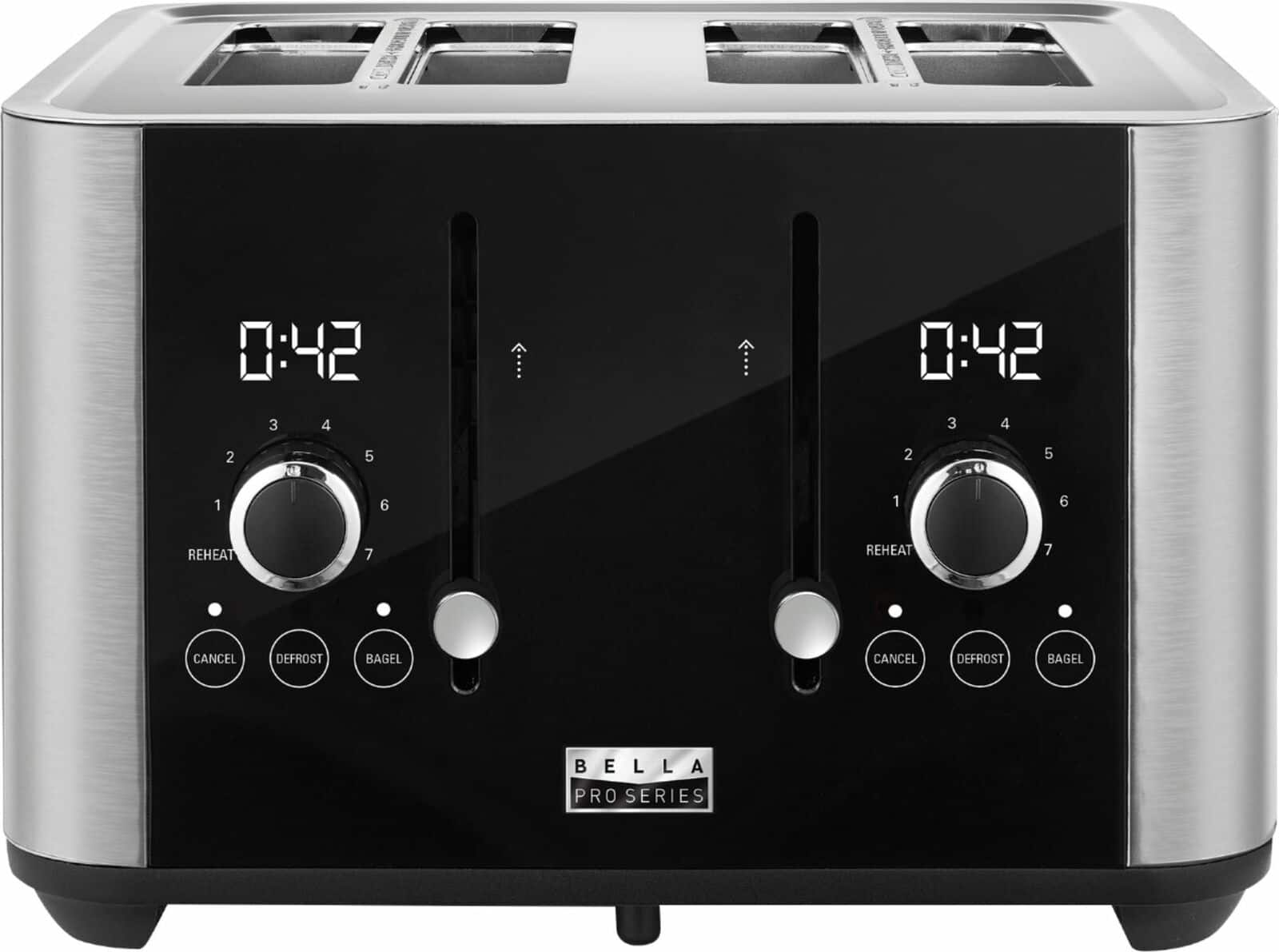 4-Slice Bella Pro Series Extra Wide Slot Digital Touchscreen Toaster $40 + Free Shipping or store pickup at Best Buy