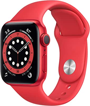 Apple Watch Series 6 40mm GPS Smartwatch (Red) $265 + Free Shipping