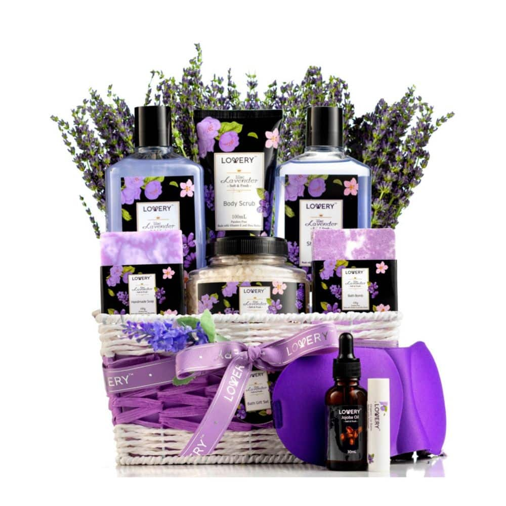 13-Pc Lovery White Rose Jasmine Body Care Gift Set $15, 10-Pc Lovery Lavender and Jasmine Body Care Gift Set $22, Much More + 10% Sd Cashback + Free shipping on $25