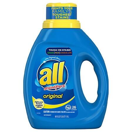 36-Oz All Liquid Laundry Detergent + 4-Oz Colgate Toothpaste + Oral-B Toothbrush $2.88 + Free Pickup at Walgreens