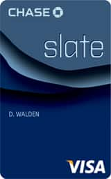 Slate® by Chase Introductory Offer: 0% APR for 15 Months and no Balance Transfer Fee