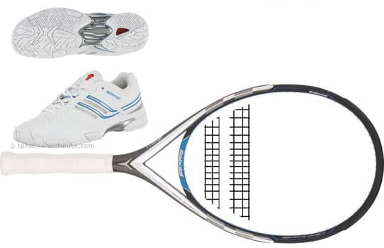 Tennis Warehouse Babolat Racquets over 50% off AND get a free pair of Babolot Drive Shoes
