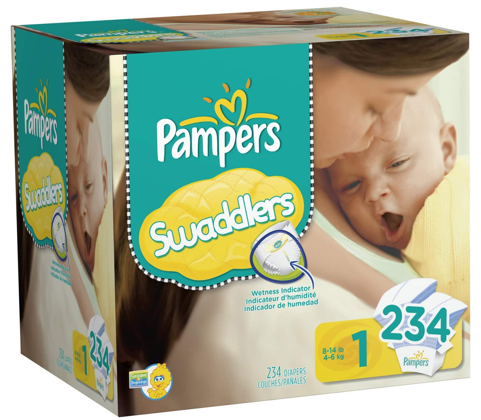 Diapers.com Coupon: $15 Off Select Pampers Diaper XL Packs: Baby Dry 276-Ct Size 1, 246-Ct Size 2, 222-Ct Size 3, 192-Ct Size 4, 172-Ct Size 5 $31.50 & More + Free Shipping