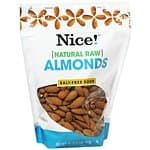 Nice! Brand Nuts and Trail Mix (Assorted Flavors): 10-Pouches of 16oz Almonds $27, 10-Pouches of 10oz Pistachios $27, 17-Pouches of 12oz Trail Mix