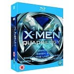X-Men Quadrilogy Set (Blu-ray): X-Men, X-Men 2, The Last Stand, Wolverine