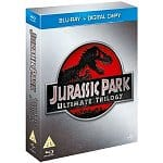 Jurassic Park Ultimate Trilogy (Region Free Blu-ray + Digital Copy)
