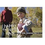 Free Father's Day Personalized Greeting Card