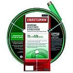 75' Craftsman Heavy Duty Neverkink Self-Straightening Hose w/ Lifetime Warranty