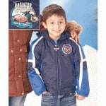 Disney Cars Boys' Fleece Lined Winter Jacket (size 7)