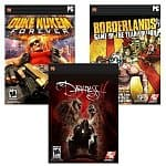 PC Digital Download Games: The WTF Pack (Borderlands Game of the Year Edition, Duke Nukem Forever, The Darkness II) $20, Desert to the Sea Bundle (Bioshock 2, Bioshock, Spec Ops: The Line)