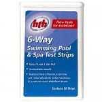 50-Count HTH 6-Way Swimming Pool & Spa Chemical Test Strips