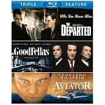 Martin Scorsese Triple Feature (Blu-ray): Goodfellas, The Aviator, The Departed