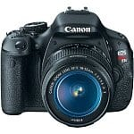 Canon EOS Digital Rebel T3i 18MP SLR Camera w/ 18-55mm Lens + 55-250mm Lens + 75-300mm Lens + SLR Backpack + 16GB Transcend Class 10 SDHC + Tiffen Filter