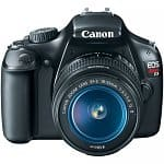 Canon EOS Rebel T3 12.2MP Digital SLR Camera w/ 18-55mm f/3.5-5.6 IS Lens