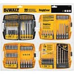 100-Piece Dewalt Metal Twist Drill Bit Set