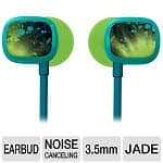 Logitech Ultimate Ears 100 Noise-Isolating Earphones (Jade Guitar)