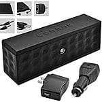 Ematic Bluetooth Speaker w/ Accessory Kit (Mini USB cable, wall charger, car charger, aux cable and audio splitter) $8 + free shipping