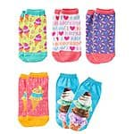 Kohls Cardholders: 10-Pair Pink Cookie Girls' No Show Socks  $3.15 + Free Shipping