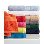 "Tommy Hilfiger ""All American"" 27"" x 52"" Bath Towel (various colors) $4 + Free Store Pickup at Macys or $3 Shipping"