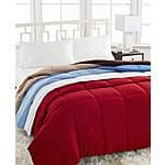 Home Design Down Alternative Comforter (all sizes, various colors) $24 + Free Store Pickup at Macys