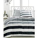 3-Piece Comforter Sets: Dylan Reversible, Modern Stripe, or Ainsley  $20 + Free Store Pickup