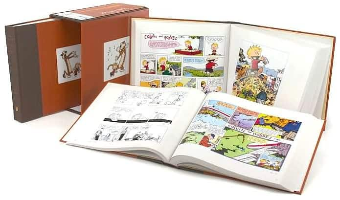 The Complete Calvin and Hobbes (v. 1, 2, 3) Hardcover Box Set Amazon $50.69
