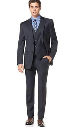 3-Piece Alfani Red Men's Slim Fit Suit (various colors) $102.50 + Free Shipping