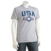 Kohls Deal: Men's Patriotic Print Tee (various styles)
