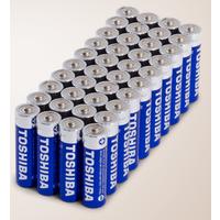 Meh Deal: Toshiba AA Alkaline Batteries: 120-Ct $20, 80-Ct $15, 40-Ct