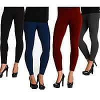 Deal: Ladies Fleece Lined Leggings (various colors) $4.50 each + free shipping