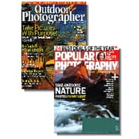 DiscountMags Deal: 1-Year Popular Photography + 1-Year Outdoor Photography Magazine
