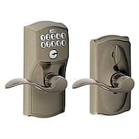 Amazon Deal: Schlage Camelot Keypad Lever Entry (various finishes)