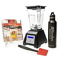 HSN Deal: Blendtec 1560-Watt All-in-One FourSide Jar Total Blender Classic + 25oz Travel Bottle + Spoonula + Recipe Book $280 (new customers) or $290 (existing customers) + free shipping