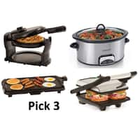 Kohls Deal: Choose 3: Griddle, Slow Cooker, Panini or Waffle Maker + $15 Kohl's Cash