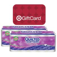 Target Deal: 60-Ct Quilted Northern Ultra Plush Double Roll Toilet Paper + $10 Target Gift Card