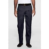 Lands End Deal: Lands' End Men's Pleated Twill Pant: Somewhat limited sizes (navy) $10, Big Mens' $11 + free shipping