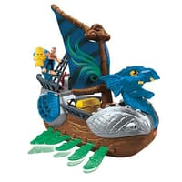 Kohls Deal: Fisher-Price Imaginext: Serpent Pirate Ship $16, Batman Gotham City Jail