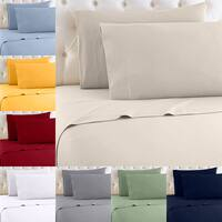 Tanga Deal: 1000 TC 4-Piece Milano Collection 100% Egyptian Cotton Sheet Set (various colors, twin, full, queen or king) $45 shipped