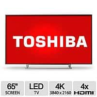 "TigerDirect Deal: 65"" Toshiba 2160P 240Hz 4K UHD LED Smart TV (65L9400U) $1600 + free shipping"