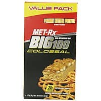 Amazon Deal: 4-Count 3.52-oz MET-Rx Big 100 Colossal Peanut Butter Pretzel