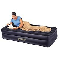 Amazon Deal: Intex Pillow Rest Twin Airbed w/ Built-in Electric Pump