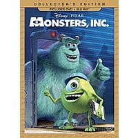 Amazon Deal: Monsters, Inc. 3-Disc Collector's Edition (Blu-ray + DVD)
