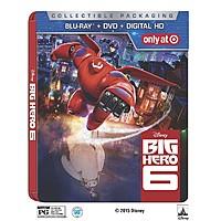 Target Deal: Big Hero 6 (SteelBook Collectors Edition, Blu-ray + DVD + Digital)